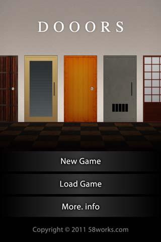 DOOORS-メイン画面